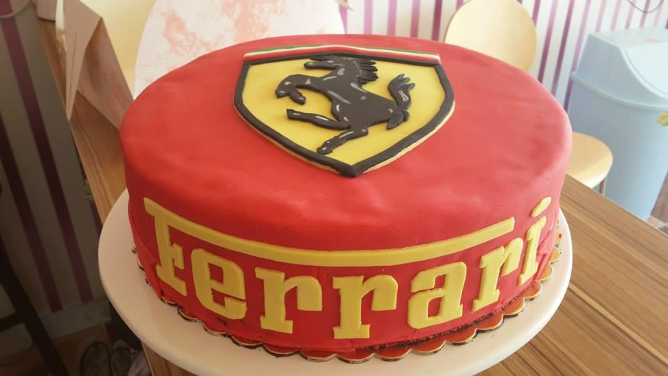 Miraculous Ferrari Cake Sekercake Funny Birthday Cards Online Aboleapandamsfinfo